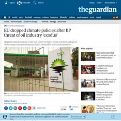 Climate Blackmail