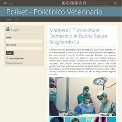 Mantieni Il Tuo Animale Domestico In Buona Salute Scegliendo La Giusta Clinica Veterinaria