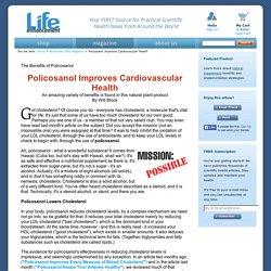 Policosanol Improves Cardiovascular Health