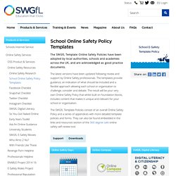 Policy Templates - Online Safety Services