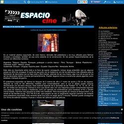 Curso de talla en poliestireno expandido - ESPACIO CINE