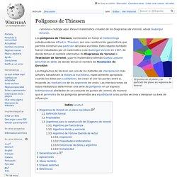 Polígonos de Thiessen