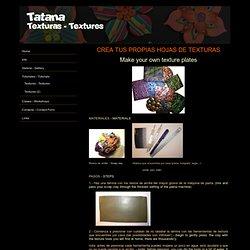 Tatana polimerica fimo polymer clay joyeria jewelry spain españa - Texturas - Textures