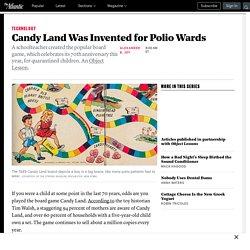 How Polio Inspired the Creation of Candy Land
