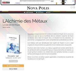 Nova Polis - L'Alchimie des Métaux - Henk Leene