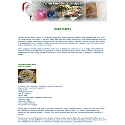 Polish Christmas Recipes