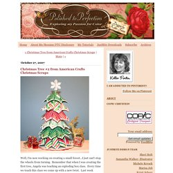 Polished to Perfection: Christmas Tree #2 from American Crafts Christmas Scraps