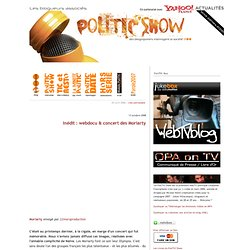 PoliTIC Show / TIC Show : blog politique / the french politics show - vlog & webtv by six35.fr
