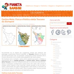 Toscana Cartina Muta.Italiano Imparare La Lingua Pearltrees