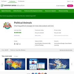 Political Animals Review for Teachers