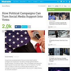 How Political Campaigns Can Turn Social Media Support Into Votes