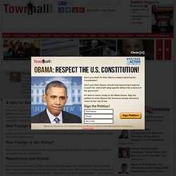 Thomas Sowell - Conservative Columnist and Political Commentator2010 Column Archive2007 Column Archive
