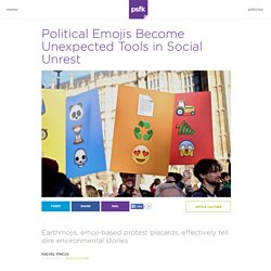 Political Emojis Become Unexpected Tools in Social Unrest