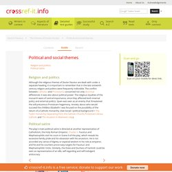 Political and social themes » Doctor Faustus Study Guide from Crossref-it.info