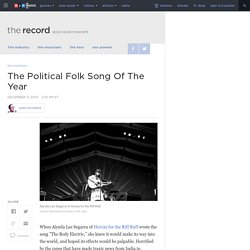 The Political Folk Song Of The Year : The Record