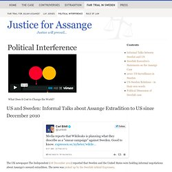 Political Interference - Sweden vs. Assange