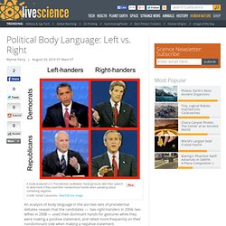 Political Body Language