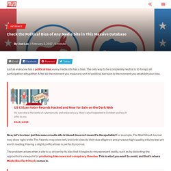 Check the Political Bias of Any Media Site in This Massive Database