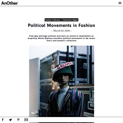 Political Movements in Fashion