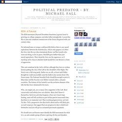 Political Predator - By Michael Sall: BDS: A Tutorial