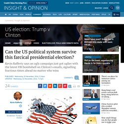 Can the US political system survive this farcical presidential election?