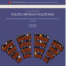 The Political Scientist Hélène Landemore on Open Democracy