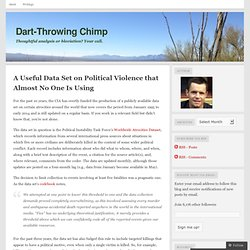 A Useful Data Set on Political Violence that Almost No One Is Using