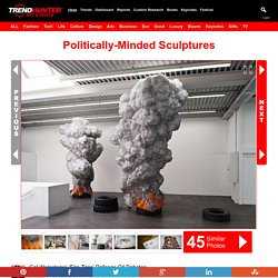 Politically-Minded Sculptures : Fire Tires