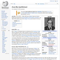 Jean Rey (politician)