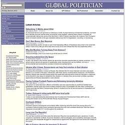 Global Politician: News, Interviews, Opinions and Analysis
