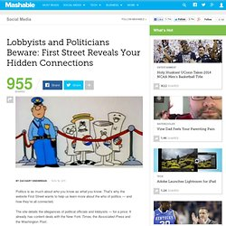 Lobbyists and Politicians: Connections