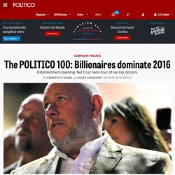 The POLITICO 100: Billionaires dominate 2016