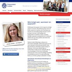 Politicologie ~ Studies ~ Studeren in Leiden