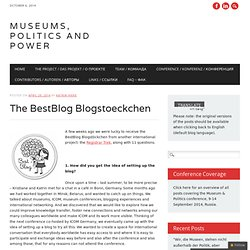 The BestBlog Blogstoeckchen