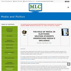 Media and Politics - Media Literacy Clearinghouse