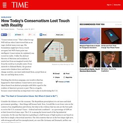 Party Politics: How Conservatism Lost Touch with Reality