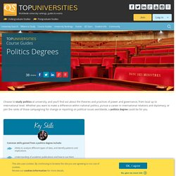 Politics Degrees