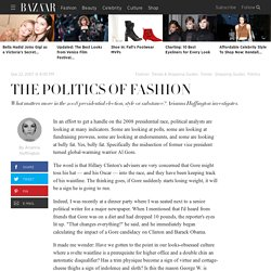 The Politics of Fashion - Arianna Huffington