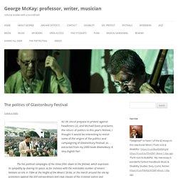 George McKay: professor, writer, musician