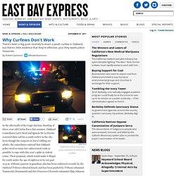 Oakland, Berkeley, Bay Area & California