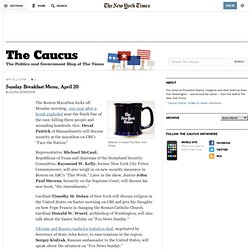 Politics and Government - 2012 Presidential Watch - The Caucus Blog