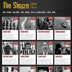 The Sleaze - Political Satire Stories From The Sleaze