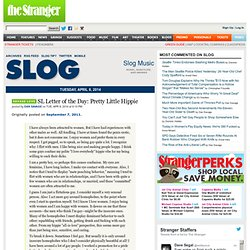 Slog | The Stranger, Seattle's Only Newspaper