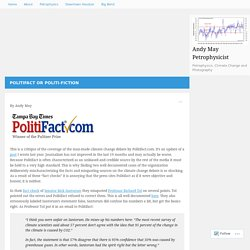 Politifact or Politi-fiction