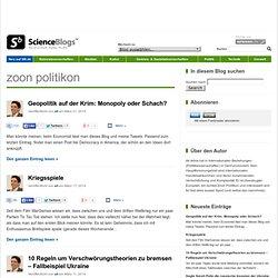 ScienceBlogs.de - Wissenschaft, Kult