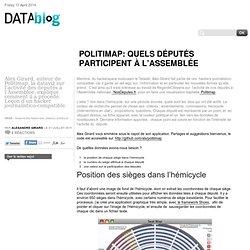 Politimap: quels députés participent à l'Assemblée