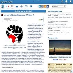 Un nouvel âge politique pour l'Afrique ?