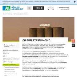 Politique culturelle de la région Aquitaine : missions et objectifs