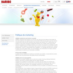 Politique de marketing