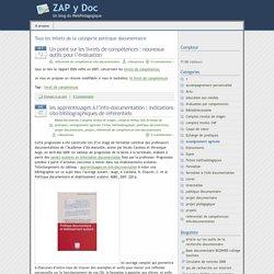 Référentiel compétences pol doc- ZAP y DOC